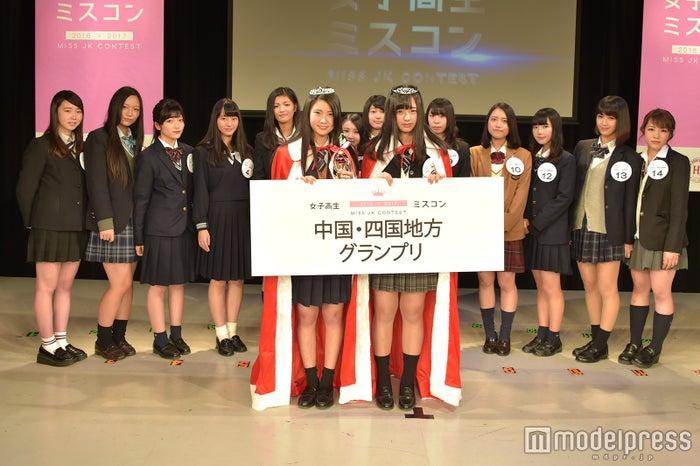 「女子高生ミスコン2016-2017」中国四国地方予選(C)モデルプレス