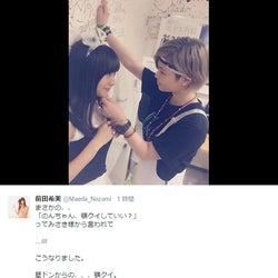 Popteen前田希美「壁ドンからの顎クイ」イケメン女子の胸キュン連続技にうっとり
