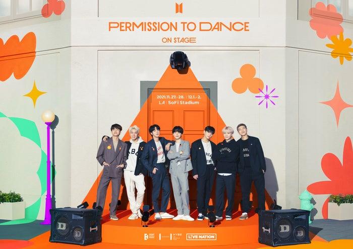 「PERMISSION TO DANCE ON STAGE - LA」(P)&(C)BIGHIT MUSIC