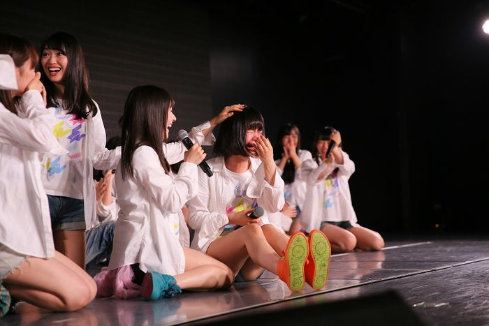 高倉萌香/NGT48劇場の様子(C)AKS