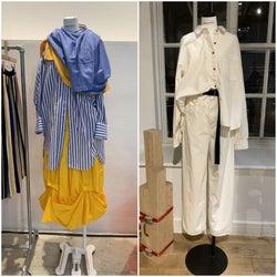 「エンフォルド」「ナゴンスタンス」20年春夏物 様々な着こなしの楽しみ方を提案