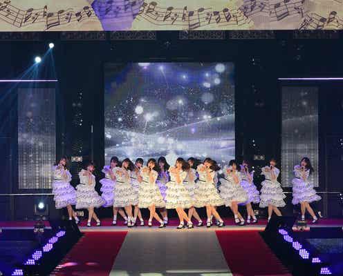 """日向坂46""""ハッピーオーラ""""全開で会場揺らす ギャップで魅了<GirlsAward 2019 A/W>"""