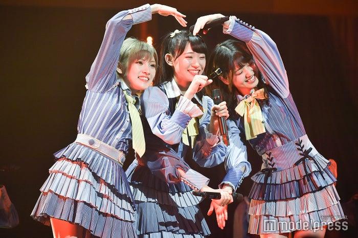 岡田奈々、山内瑞葵、村山彩希「AKB48 チーム4単独コンサート~友達ができた~」 (C)モデルプレス