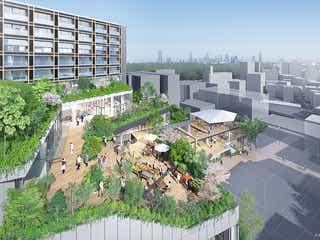 原宿駅前の新施設「ウィズ原宿(WITH HARAJUKU)」6月より順次開業