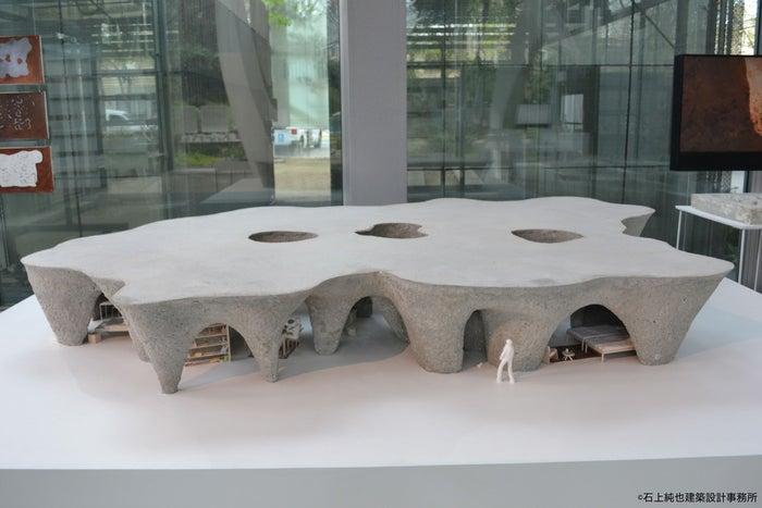 パリ「カルティエ財団現代美術館」個展で展示された模型/画像提供:温故知新