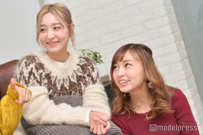 (左から)前山奈津巴さん、二ノ宮なつきさん(C)モデルプレス