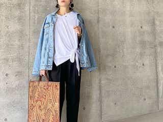 夏は「大きめトートバッグ」が可愛い♥ 30代大人女子が取り入れたい最旬スタイル