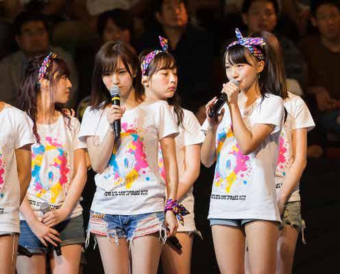 NMB48上西恵の卒業発表、波乱の大組閣、新シングル選抜…6周年ライブで新始動を予感<セットリスト/新チーム一覧>