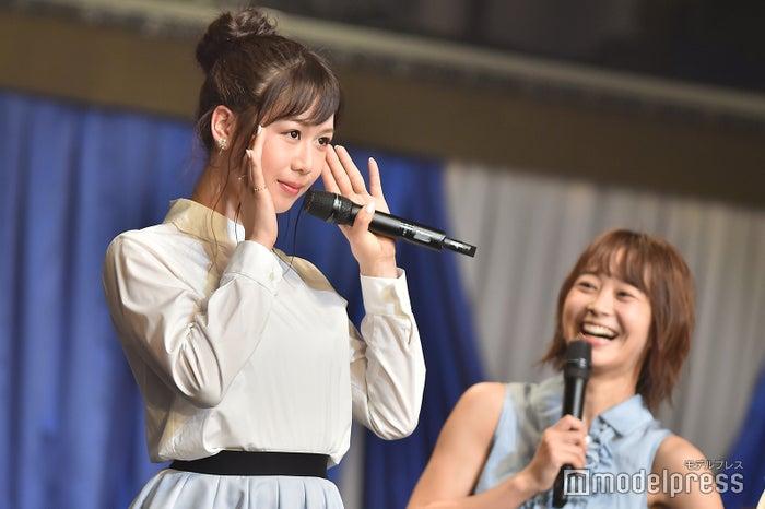 """大家志津香の""""可愛い""""顔「AKB48 チームB単独コンサート~女神は可愛いだけじゃない~」 (C)モデルプレス"""