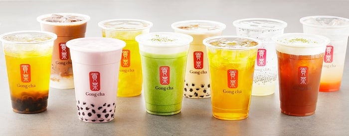 台湾茶専門店「ゴンチャ」大阪・リンクス梅田内に2店舗同時オープン/画像提供:ゴンチャ ジャパン