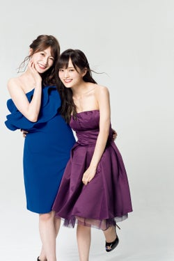 NMB48山本彩&吉田朱里、大胆美デコルテ輝く 2人だけの思い出語る