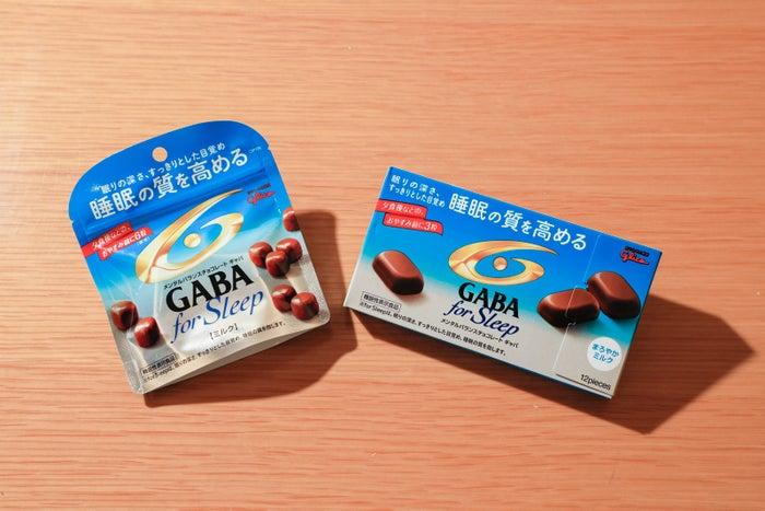 「GABA for Sleep」(左から)<ミルク><まろやかミルク>