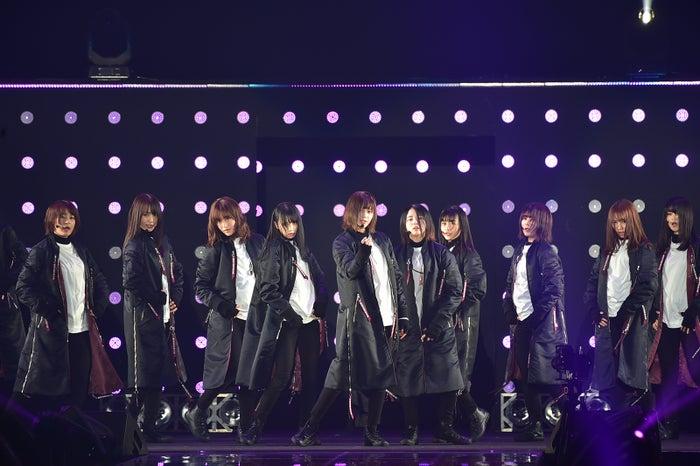 欅坂46(C)マイナビ presents TOKYO GIRLS COLLECTION 2018 SPRING/SUMMER