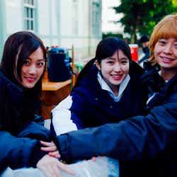 山下美月、福本莉子、桜田ひより(提供写真)