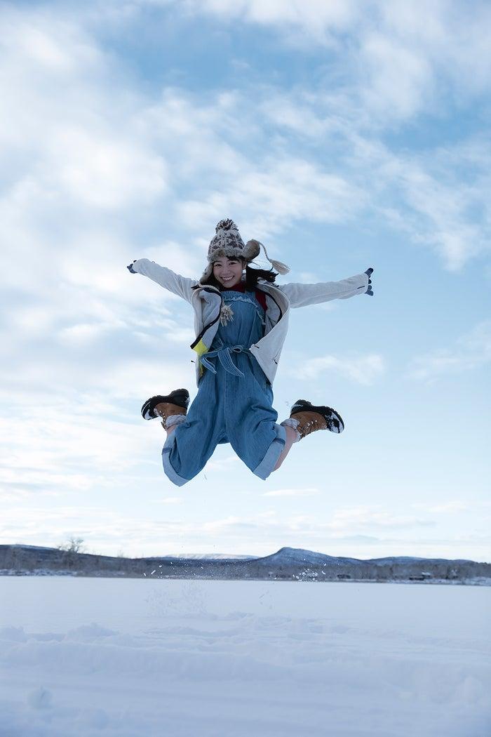 北野日奈子・写真集「空気の色」セブンネット限定版裏表紙(画像提供:幻冬舎)