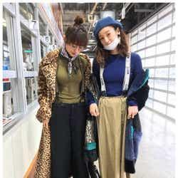 """モデルプレス - 山田優&西山茉希、""""偶然""""おそろコーデがハイセンス「オーラありすぎ」「さすが」の声"""