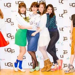 高垣麗子、舟山久美子ら人気モデル集結 「UGG」春コレクションパーティ