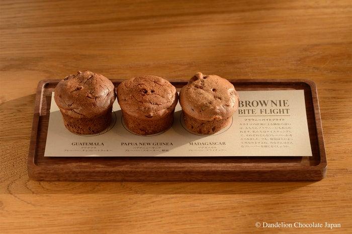 ブラウニーバイトフライト 価格:630円/画像提供:Dandelion Chocolate Japan