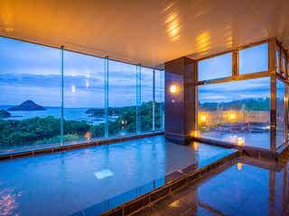 絶景の天草富士を温泉から一望「大江戸温泉物語 天草ホテル亀屋」上天草にオープン