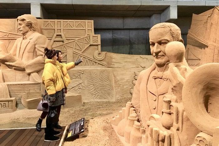 砂の美術館(C)TBS