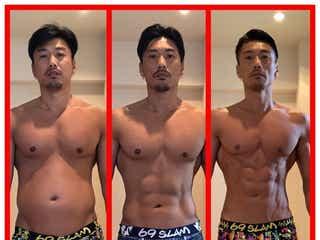 """金子賢、半年で""""19キロ減量""""成功 驚異の肉体改造が話題に"""