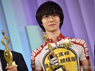 「弱虫ペダル」小越勇輝、登壇者唯一の役衣装で異彩放つ<東京ドラマアウォード2017>