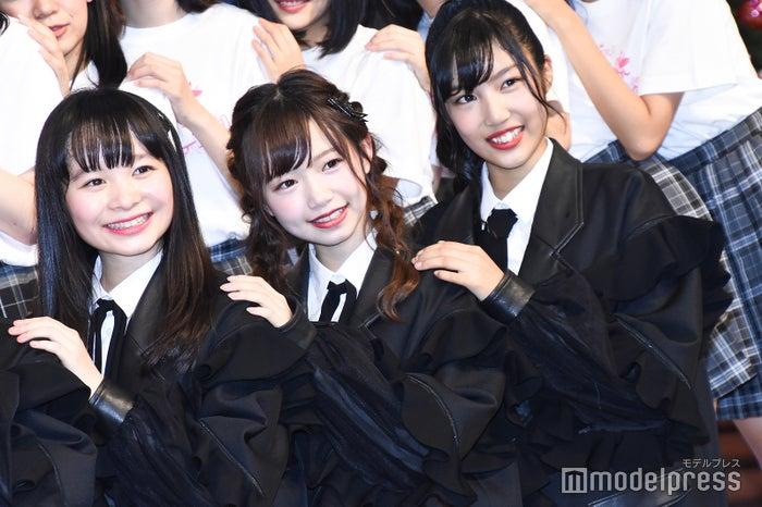 ラストアイドル2期生/延命杏咲実、畑美紗起、栗田麻央 (C)モデルプレス