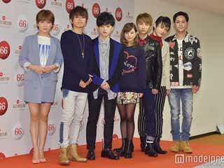 AAA、7人の個性あふれる着こなしに注目<ファッションチェック/紅白リハ初日>