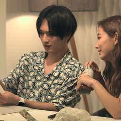 流佳、愛華「TERRACE HOUSE TOKYO 2019-2020」16th WEEK(C)フジテレビ/イースト・エンタテインメント
