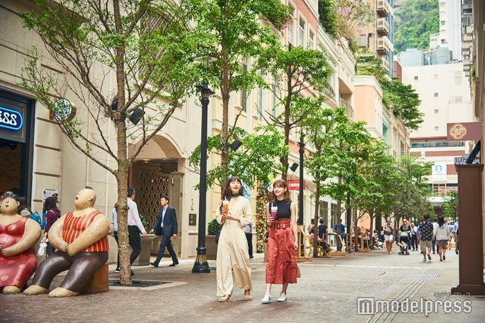車が通らない利東街。ゆったり歩けるのも◎ (C)モデルプレス