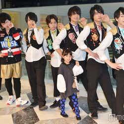 (左から)軟式globe。'13、吉田仁人、山﨑悠稀、佐野勇斗、板垣瑞生、塩﨑太智(C)モデルプレス