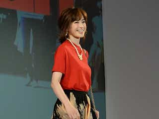 """高垣麗子、赤×黒で魅せる 大人可愛い""""デートスタイル""""披露"""