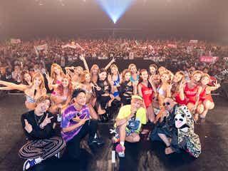 CYBERJAPAN DANCERS、初の主催ライブで美ボディ全開 EXITも登場