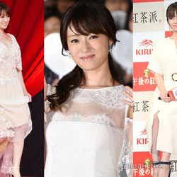 """モデルプレス - 深田恭子""""大人可愛い""""ドレス&ワンピースの着こなしを真似したい"""