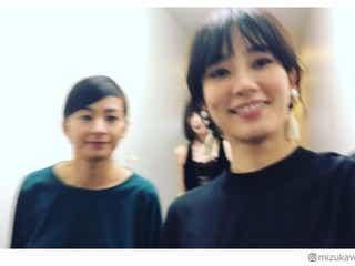 水川あさみ&池田エライザ&尾野真千子のわちゃわちゃ動画に反響「美女集結」「ずっと見てられる」