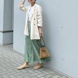 「ホワイトTシャツ」を大人っぽくきちんと着こなしたい! マネしたいコーデ見本4選