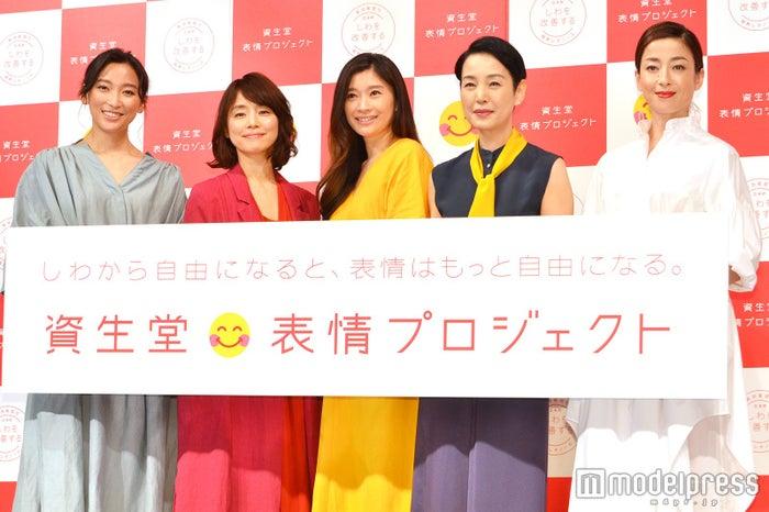 (左から)杏、石田ゆり子、篠原涼子、樋口可南子、宮沢りえ(C)モデルプレス
