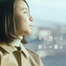 上白石萌歌/「最後の上映会『道』」篇 long.verより(提供写真)