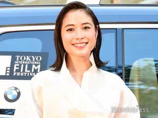 広瀬アリス「第32回東京国際映画祭」開幕飾る ホワイトドレスで華やかオーラ