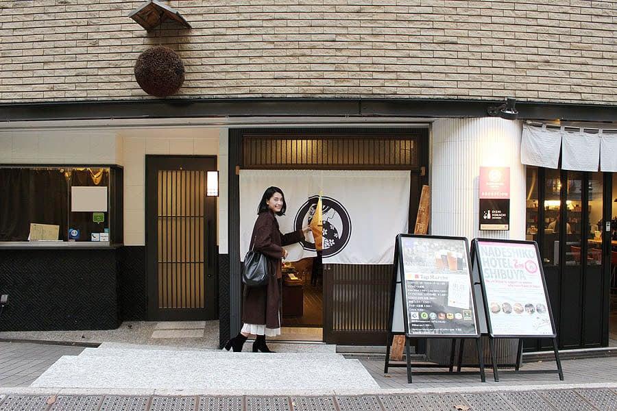 NADESHIKO HOTEL SHIBUYA 外観