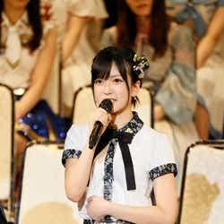 モデルプレス - NMB48須藤凜々花、総選挙で結婚を電撃発表<スピーチ全文>