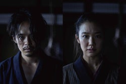 池松壮亮×蒼井優、衝撃作で共演「かけがえのない作品」「この上なく幸せ」<斬、>