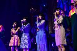 田口愛佳、横山由依、岡部麟、久保怜音「第8回 AKB48紅白対抗歌合戦」(C)AKS