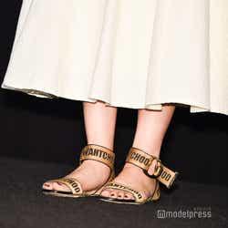 長澤まさみの靴 (C)モデルプレス