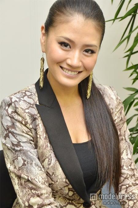 モデルプレスのインタビューに応じてくれた2012年ミス・ユニバース・ジャパン原綾子