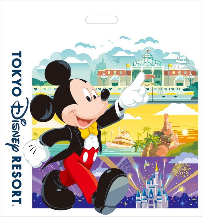 有料となる買い物袋のデザインイメージ(C)Disney