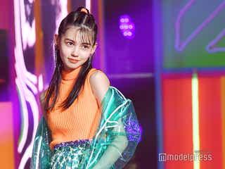 「ViVi」専属モデルオーディション・グランプリの愛花(えりか)、お披露目 歓声止まず<ViVi Night>