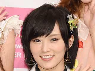 NMB48山本彩、前歯が欠けたことを告白