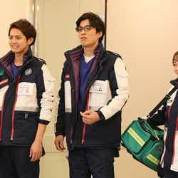 片寄涼太、谷恭輔、土路生優里/「病室で念仏を唱えないでください」第5話より(C)TBS