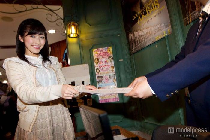 「AKB48 32ndシングル選抜総選挙」に立候補したAKB48渡辺麻友